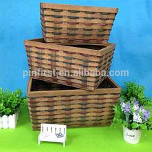 Handicraft Small Wooden Baskets