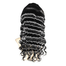 Fashionable Full Swiss Lace Wig, Deep Body Wave in 1b# Color, Various Colors/Styles are Available