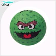 Novelty competetion rubber cartoon children gifts basketballs