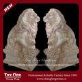 realistiche in marmo decorativi statue di animali in vendita
