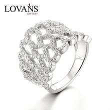 Fashionable 925 Italian Silver Ring Engagement Gift Cheap Silver Ring LWR0922