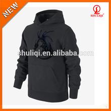plain hooded kangaroo sweatshirt plain black men hoodie