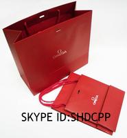 shanghai cute pantone color printing paper material and gift industrial bags