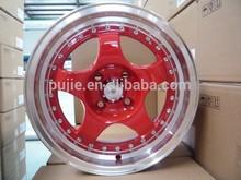 Hot sale replica Volk te37 car alloy wheel 18INCH