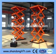 fixed hydraulic wall mount lift