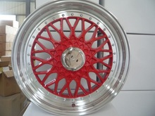 Hot sale replica 15-18inch BBS rs car alloy wheel manufacturer