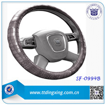 new car accessories crocodile leather car steering wheel covers winter car cover from factory
