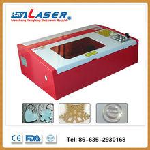 China supplier accept paypal 40 Watt Rabbit mini Laser engraving machine eastern