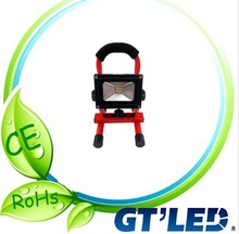 10w led indoor outdoor garden street light rechargeable flood light ip65 with 3 years warranty