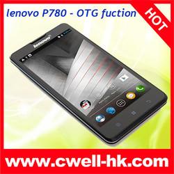 black white color bar display and design lenovo p780 mtk6589 quad core mobile phone