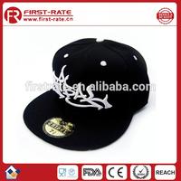 3D embroidery logo cotton basketball cap