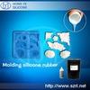 Low shrinkage liquid silicone rubber for concrete silicon mold