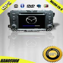 Mazda 9 car dvd 2009-2012 model TV Ipod BT