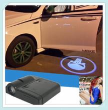CIGO hot sell 10generation led car logo door light / led ghost shadow car logo light / led car door logo laser projector light