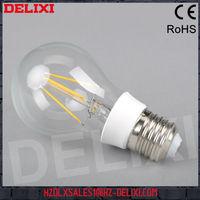 Best price 6w glass+plastic led filament bulb