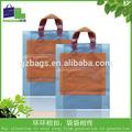 De la manija del remiendo de sellado de la manija y aceptar la orden de encargo de la alta calidad suave de la manija del lazo de plástico bolsa