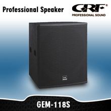 professional subwoofer, professional loudspeaker
