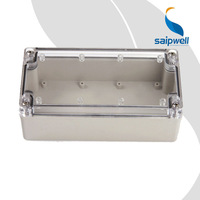 SAIP/SAIPWELL Project Box 80*160*55mm Customized Watertight PC Cover Electronic Battery Enclosure