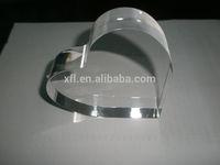 Stylish Hight Transparent Photo Frame Girls/Heart Shaped Photo 3D Crystal/Love Heart Photo Frames