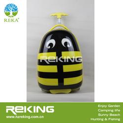 kids luggage with honeybee cartoon
