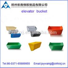 Corrosion&abrasion resistant grain elevator bucket