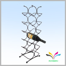 Hot new products for 2014 modern design excellent quality red wine rack metal display rack for retail buying
