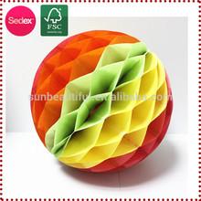 Mixed honeycomb House Designs Wedding Decoration Flower Ball