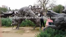 Cast Bronze Bull Sculpture/Large Bronze Bull Sculpture/Bullfight Bronze Sculpture
