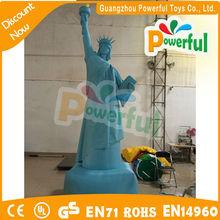 venta caliente inflable estatua de la libertad modelo de publicidad