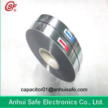 2.8-12um Antioxidant Plastic Metallized Film for Capacitor Use