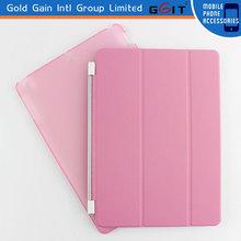 Special Design PU+PC Flip Cover Case for iPad 4, Soft Flip Cover Case of PU+PC Material For iPad 4