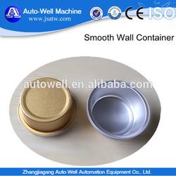 Novelty Circular Aluminum Foil Dog Food Bowl