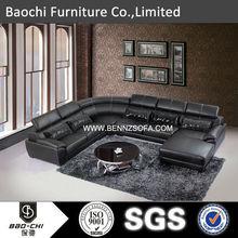 Baochi latest living room sofa design,sofa cushion pocket spring,dining table and chair A173#