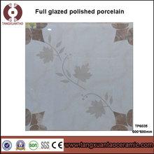 600*600mm comercial polished glazed porcelain for living room
