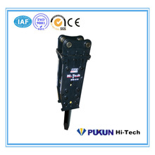 Best-selling products 100mm HTB500 Tower type Hydraulic breaker for Case backhoe