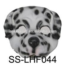 Factory wholesale cheap price EVA comfortable funny custom party doglatex animal mask(SS-LHF044)