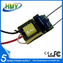 Factory Internal LED Driver CE 5W 300mA Isolated LED Bulb Driver