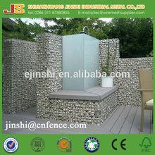 0.5mx0.5mx0.5m heavy duty galvanized welded gabion mesh for garden (manufacture)