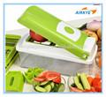 Une étape de coupe de précision, Hachoir à légumes, Légumes et fruits coupe