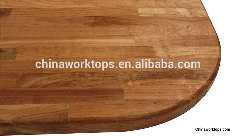 legno massiccio piano di lavoro cucina piani di lavoro in legno ...