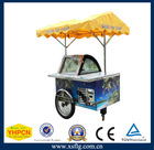 Ice cream tricycle,ice cream trolly,Galato Display Cart