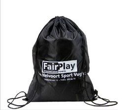 Designer hot sell fold up polyester drawstring shoe bag