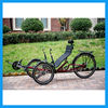 recumbent trike bicycle of three wheels for adult