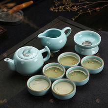premium gift famous glaze ceramic tea set dehua newest porcelain japanese porcelain tea set unique top grade gifts