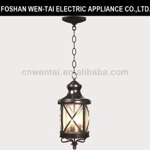 outdoor lantern light/pendant lamp foshan/park pendant light