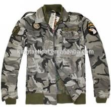 Encargo de la alta calidad para hombre de la chaqueta militar