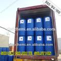Que se utiliza para la producción de desinfectante para las manos clorito de sodio solución 25%