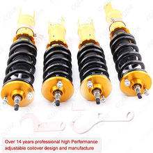For High Performance 99-09 Honda S2000 Roadster 2.0/2.2L 24 Ways Adjustable Coilover / Shock