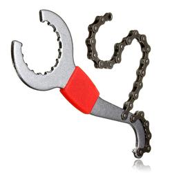 Bike Wrench Sprocket Pedal Spanner Chain Bottom Bracket Freewheel Repair Tool