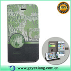 New design leather cover for iphone 6, for iphone 6 wallet leather case